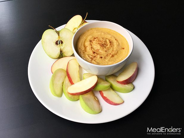 Pumpkin Spice Dip with Apples