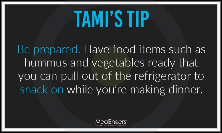 Tami's Tip 3: be prepared